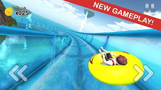 Water Slide Downhill Rush v1.22 Mod