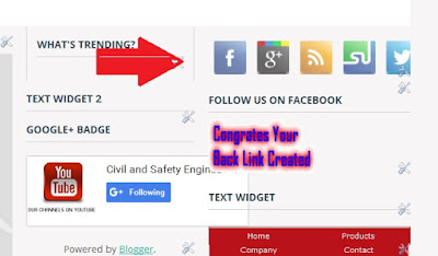 Social Media Widget For Blogger / Share Widget