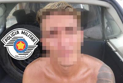 POLÍCIA MILITAR DE ILHA COMPRIDA ATUA NA CAPTURA DE PROCURADO DA JUSTIÇA