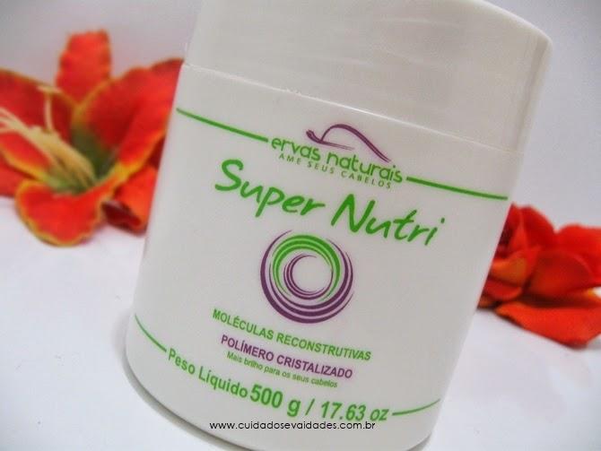 Máscara Super Nutri Ervas Naturais