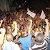 Caravana de Graça e Reginaldo vai para o bairro Tangará de Baixo e faz a festa da democracia