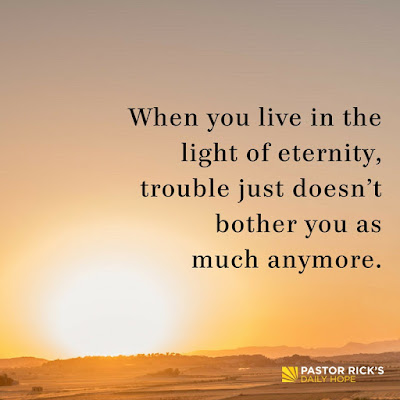 Heaven Changes Everything About How We Live Today by Rick Warren