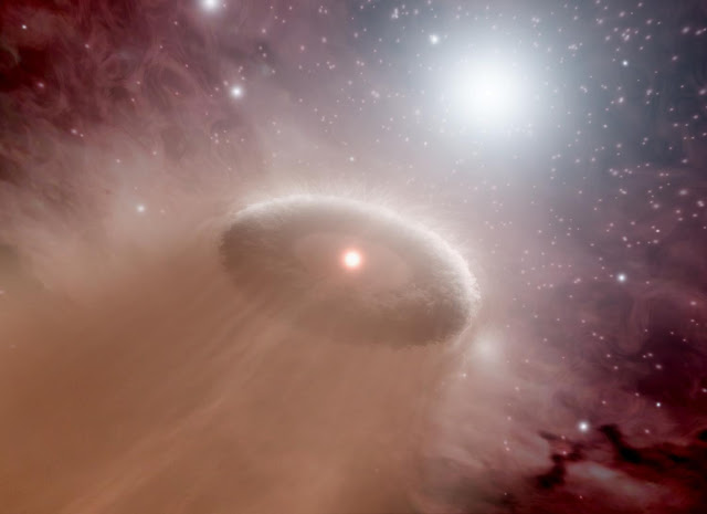 Fledgling stars try to prevent their neighbors from birthing planets