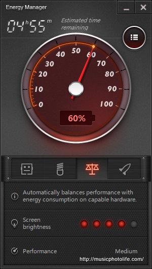 Energy Manager Lenovo Laptop - hillph