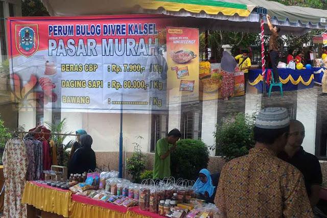 Hari ini Pasar Murah di Kota Banjarbaru, Disini Lokasinya!