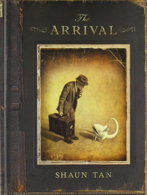 The Arrival Shaun Tan book cover
