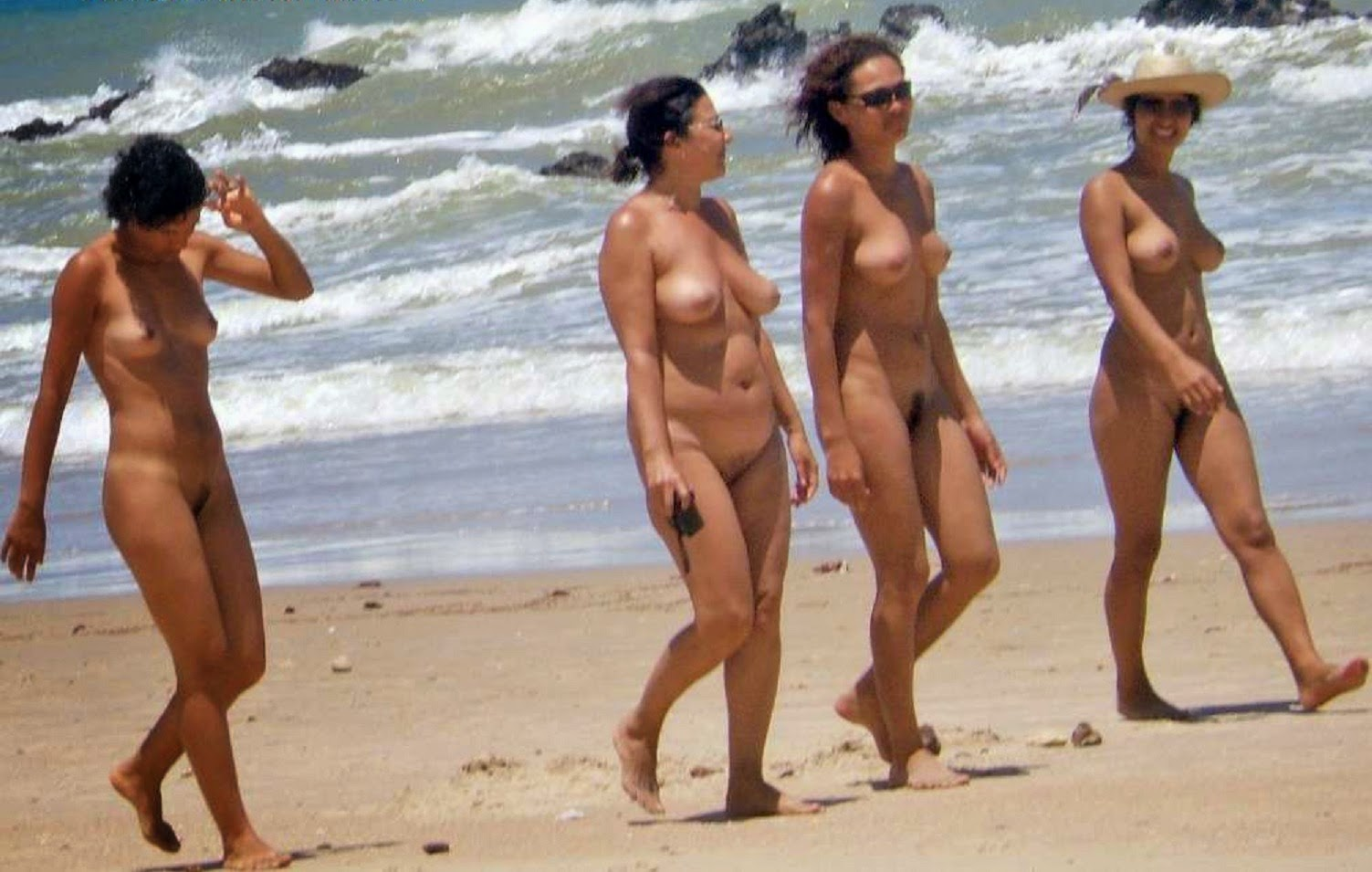Nude beach experience