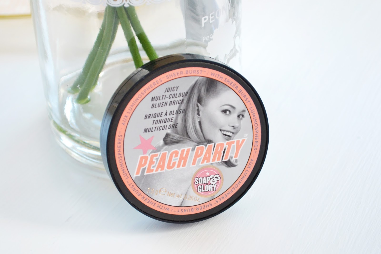 soap and glory peach party