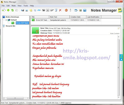 Review Sticky Notes Windows 7 vs 7 Sticky Notes Software Untuk Membuat Catatan Cantik7