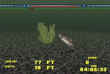 Download Game Big Bass Fishing PS1