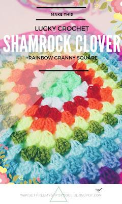 free shamrock crochet pattern granny square