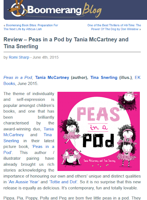http://blog.boomerangbooks.com.au/review-peas-in-a-pod-by-tania-mccartney-and-tina-snerling/2015/06