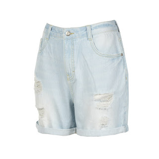 Light denim shorts, KRW 39,900