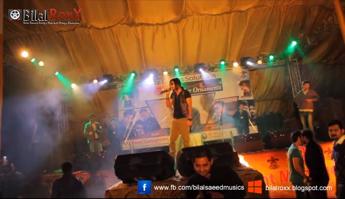 Bilal Saeed RoxX - Songs and Pictures: Adhi Adhi Raat @ PC