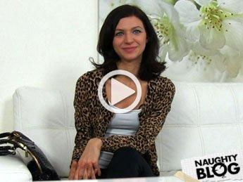 Castingxxx horny brunette amateur takes facial in interview 2