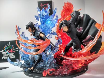 Kizuna Relation de Uchiha Sasuke y Uchiha Itachi, así como el reciente Hatake Kakashi
