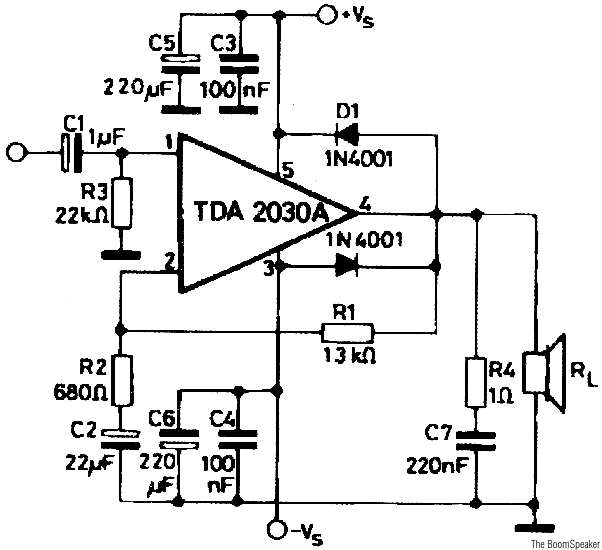 project expo   14watt amplifier using tda2030