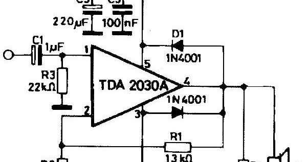 Project Expo.: 14Watt Amplifier using TDA2030