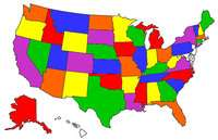 States we have camped in