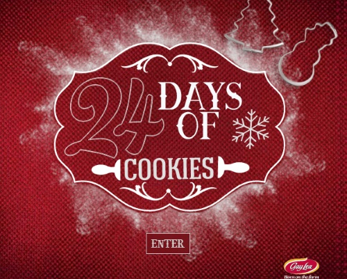 GayLea 24 Days of Cookies Giveaway