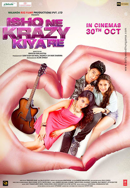 Ishq Ne Krazy Kiya Re (2015) Movie Poster No. 1