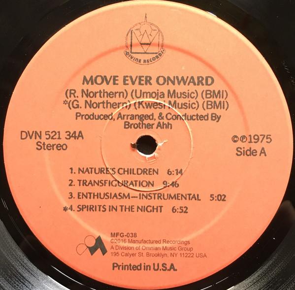 Brother Ah Move Ever Onward 1975 Us Indo Prog Raga Rock E Age Soul Jazz