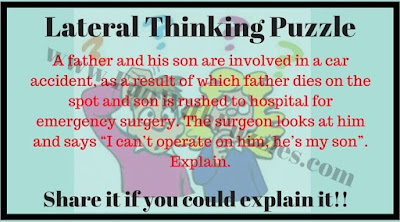 Mind Teaser which will make you think out of box
