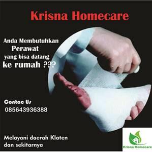 Jasa perawatan pasien di rumah ( Homecare ) daerah klaten