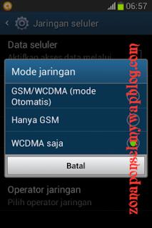 Menetapkan Koneksi Android