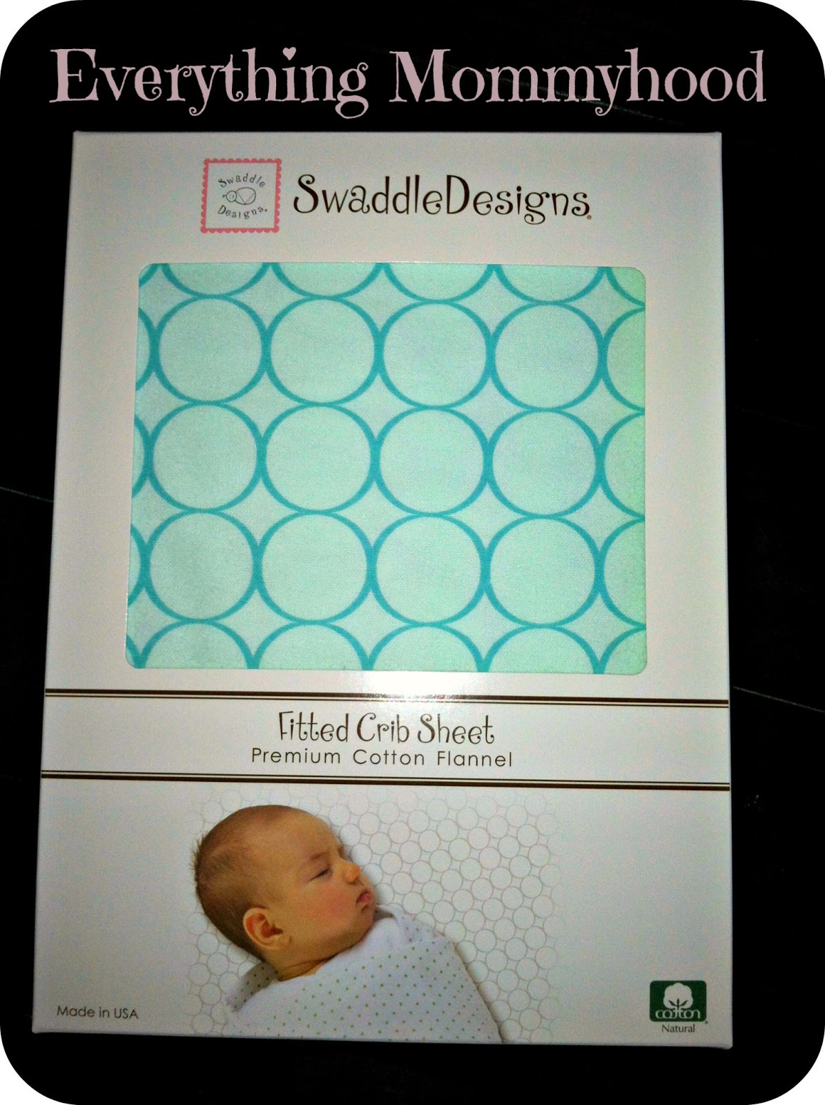 Product Review And Giveaway Swaddle Designs Flannel Crib