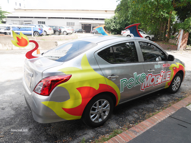 "The PokeMobile, complete with ""wings"" and all"