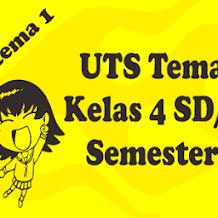 Soal Latihan UTS Tema 2 Kelas 4 Semester 1 K13