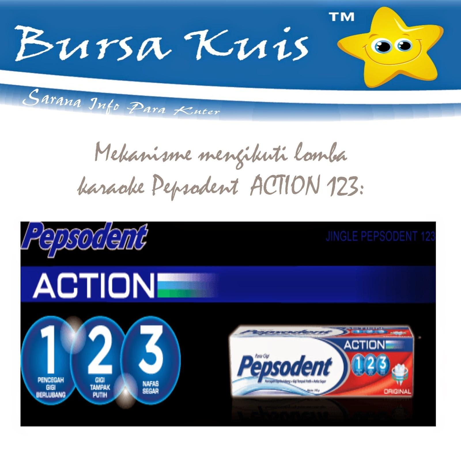 Lirik Lagu Pepsodent Action 123 : lirik, pepsodent, action, Mekanisme, Mengikuti, Lomba, Karaoke, Pepsodent, ACTION, Situs, Informasi