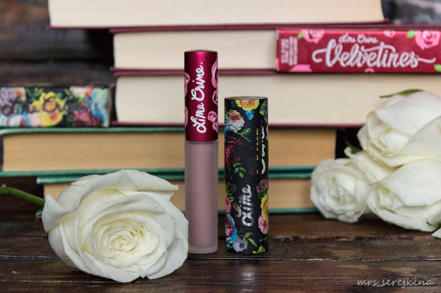 Lime Crime Duo: Matte Velvetines Cashmere + Lipstick Perlees Roswell