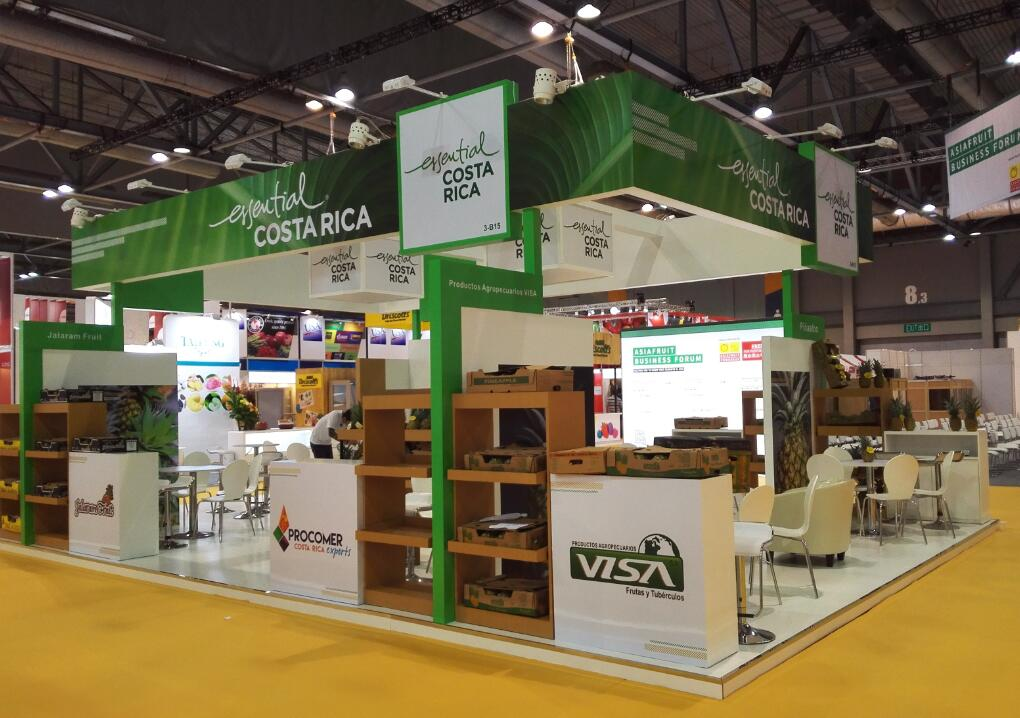 Exhibition Booth Contractor Hong Kong : Yoho expo booth contractor in china asia fruit logistica