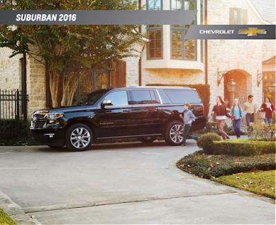 Downloadable 2016 Chevrolet Suburban Brochure
