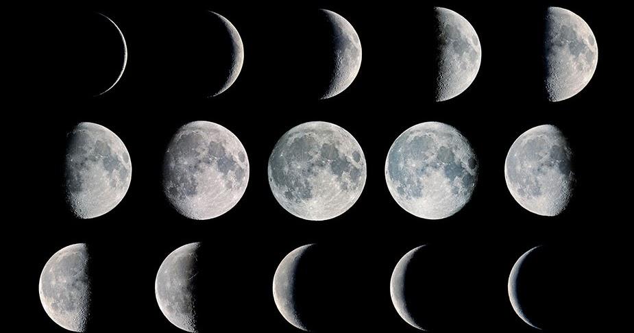 Gambar Fase Bulan Purnama