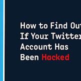 Trik mengenalisa akun twitter telah di hack Dan cara mengantisipasinya