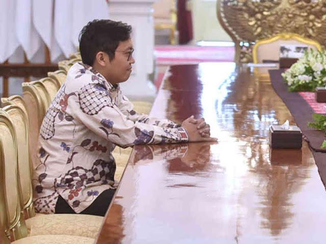 Temui Jokowi, Achmad Zaky Ungkap Pengembangan Bukalapak