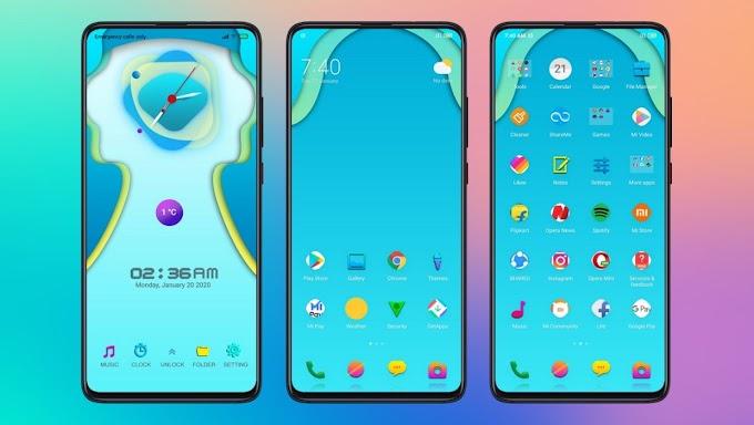 New Clock Stiw Premium MIUI Theme for Xiaomi Devices