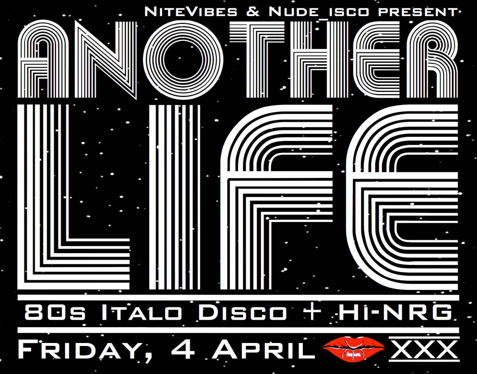 ANOTHER LIFE - Italo & Hi-NRG @ XXX Hong Kong | Nude_isco