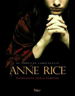 livros filmes vampiro anne rice sangue entrevista