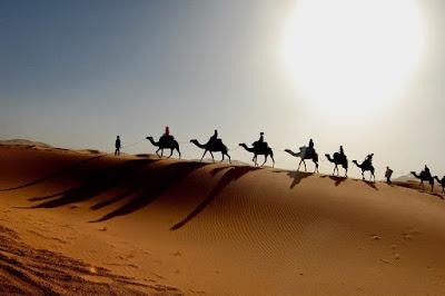padang pasir di arab