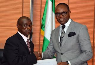 Breaking: Ibe Kachikwu's letter to Buhari, Senate to probe.