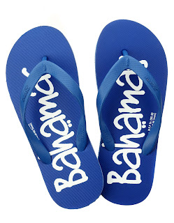Relaxo Bahamas slippers in Blue colour. Price Rs. 140