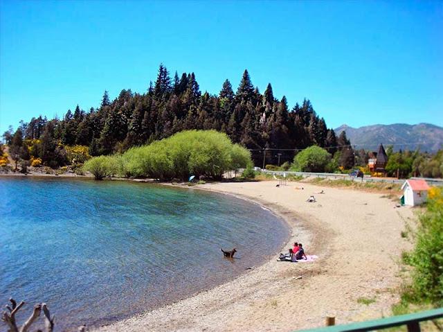Praia Bahía Serena em Bariloche
