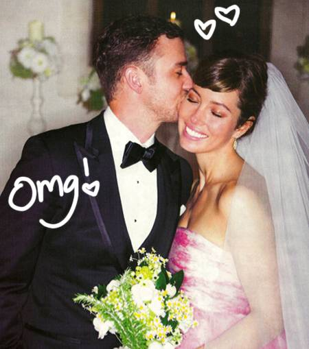 Retina: Photos Of Justin Timberlake & Jessica Biel's Wedding