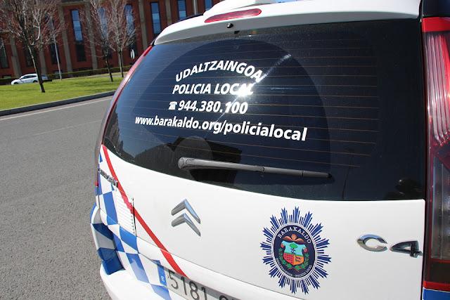 Coche de la policía local
