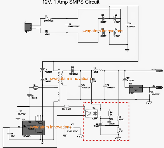 Making an Adjustable SMPS Circuit