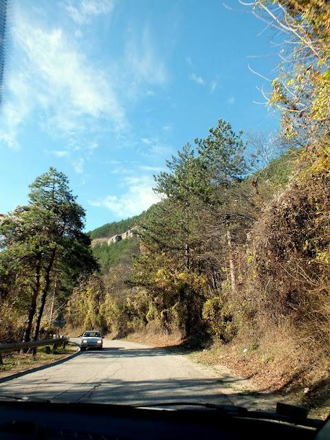 Carretera de Veliko Tarnovo a Arbanasi